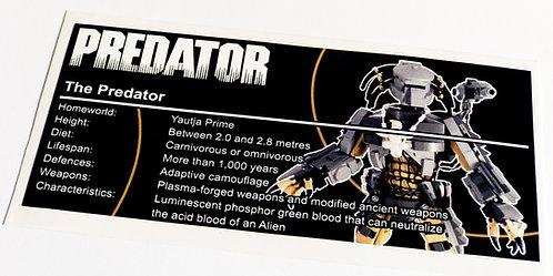 Lego Creator UCS / MOC Sticker for The Predator