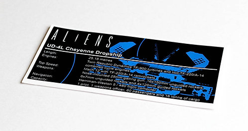 Lego UCS / MOC Sticker for Alien Dropship