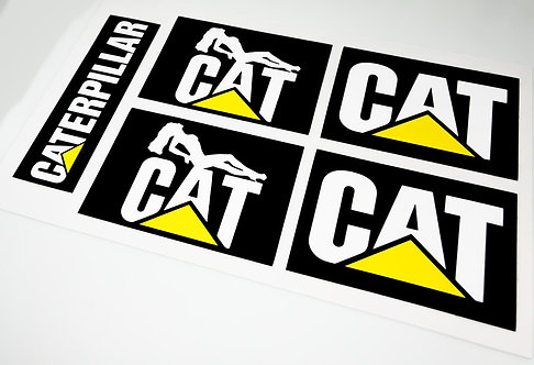 Lego Technic UCS / MOC Stickers for Cat Vehicles (Large)