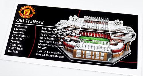 Lego Creator UCS Sticker for Old Trafford 10272