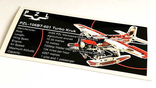 Lego Technic UCS / MOC Sticker for Fire Plane 42040