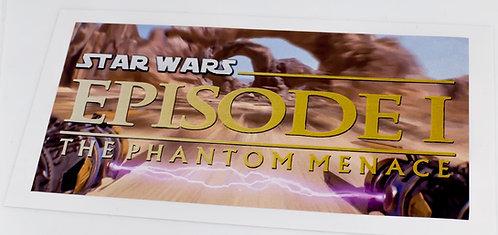 Star Wars Sticker for Episode I