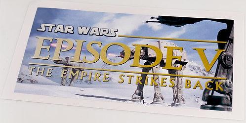 Star Wars Sticker for Episode V