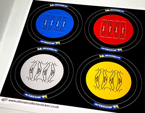 Lego Technic UCS / MOC Wheel Stickers (Set 2)
