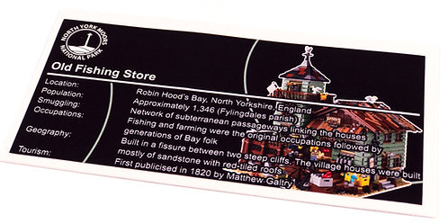 Lego Creator UCS Sticker for Old Fishing Store 21310