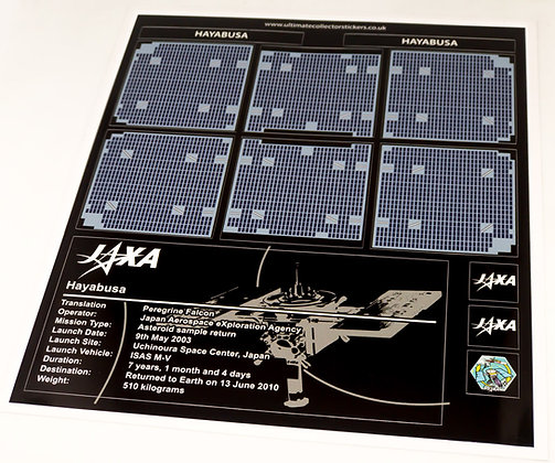 Lego Creator UCS Sticker set for Cuusoo Hayabusa 21101