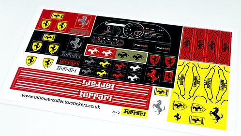 Lego Technic MOC Sticker Sheet for Ferrari F12 (MOC-41271)