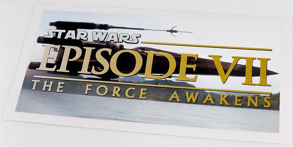 Star Wars Sticker for Episode VII