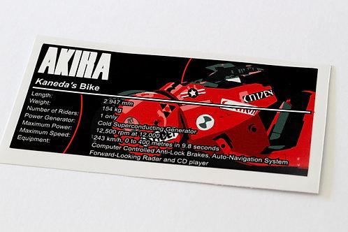Lego UCS / MOC Sticker for Arvo Brothers Kaneda's Bike