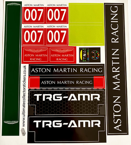 Lego Technic MOC Sticker for Aston Martin Vantage GT3 (Sheet 3)