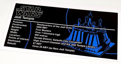 Lego Star Wars UCS / MOC Jedi Temple (MOC-40522)
