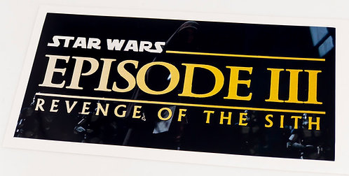 Star Wars Sticker for Episode III