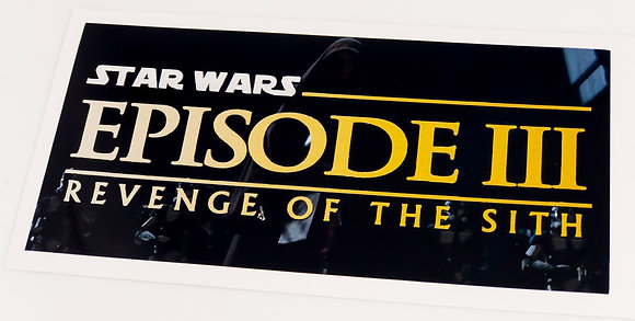 Star Wars Sticker for Episode III