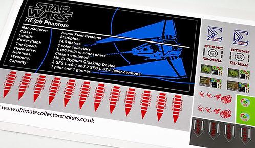 Lego Star Wars UCS / MOC Sticker for TIE Phantom (Brick Vault)