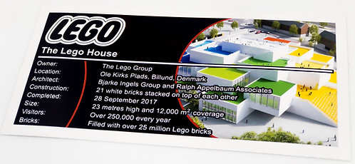 Lego Creator UCS Sticker for The Lego House 21037