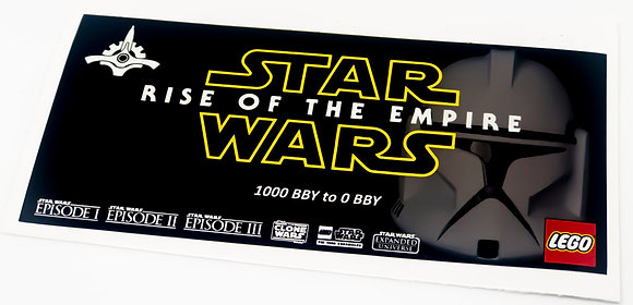 Lego Star Wars UCS Sticker for Rise of the Empire