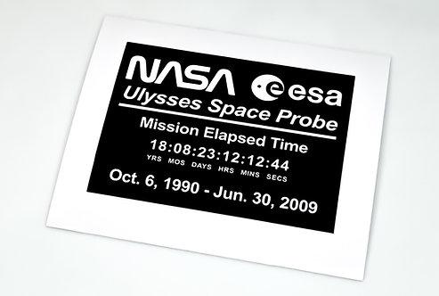 Lego UCS / MOC Sticker for Ulysses Space Probe (6373604)