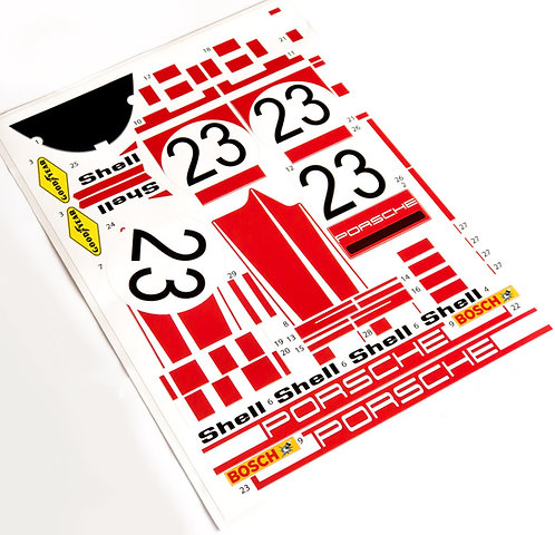 Lego Technic UCS / MOC Sticker for Porsche 917K No.23 (MOC-32980)