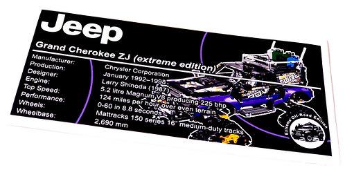 Lego Technic UCS Sticker for Extreme Adventure 42069