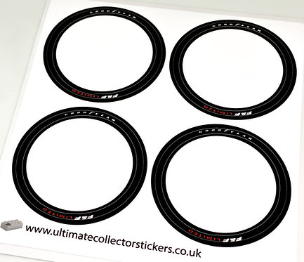 Lego Technic MOC Wheel Stickers for Dom's Charger (MOC-42308)