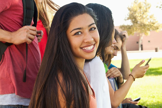 Smiling Student