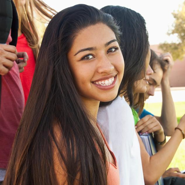 sorridente Studente