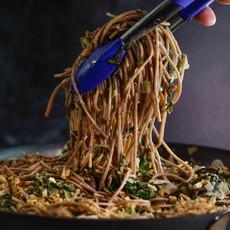 спагетти с грецкими орехами