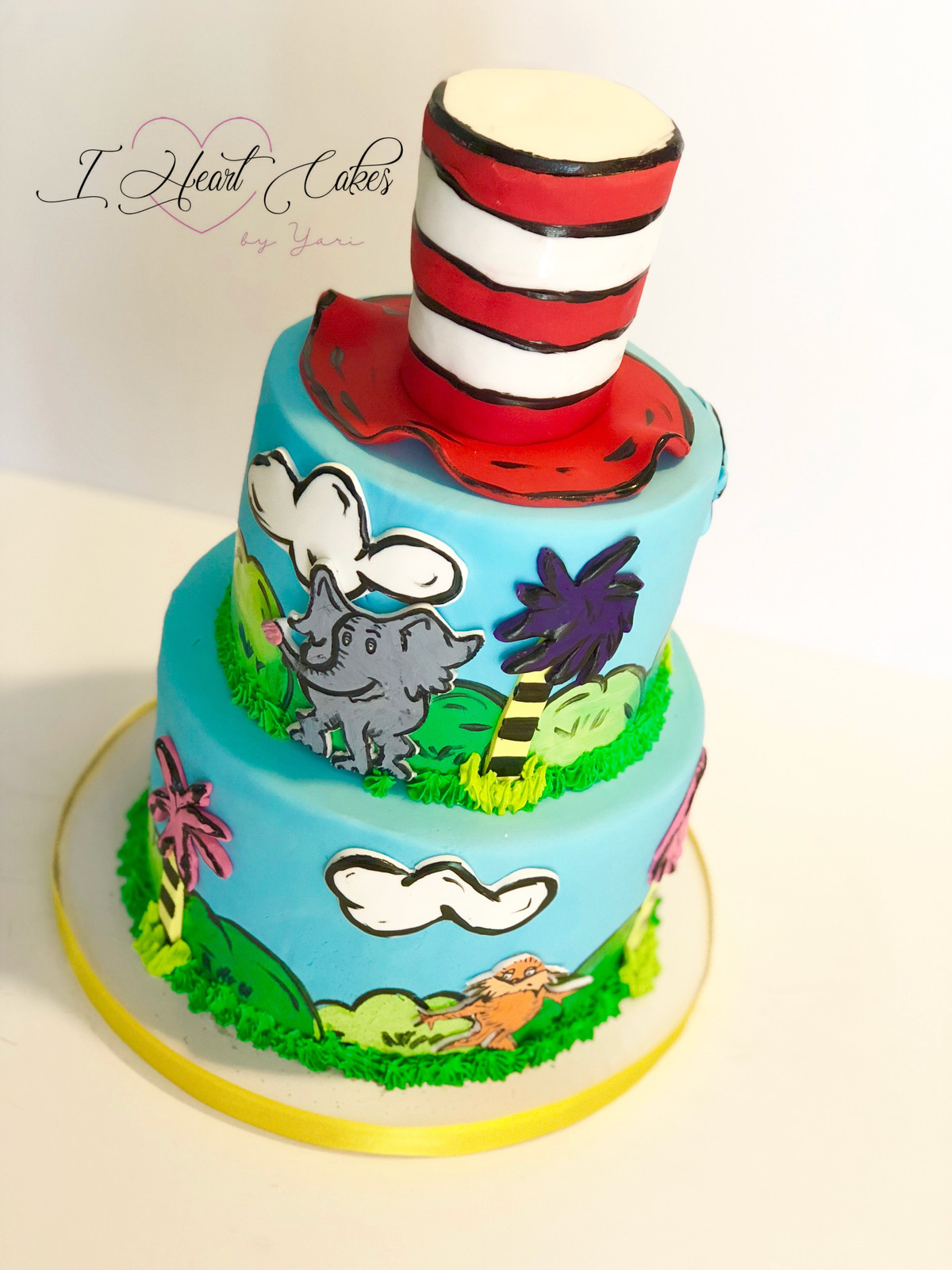 Birthday Cakes In Orlando Fl I Heart By Yari