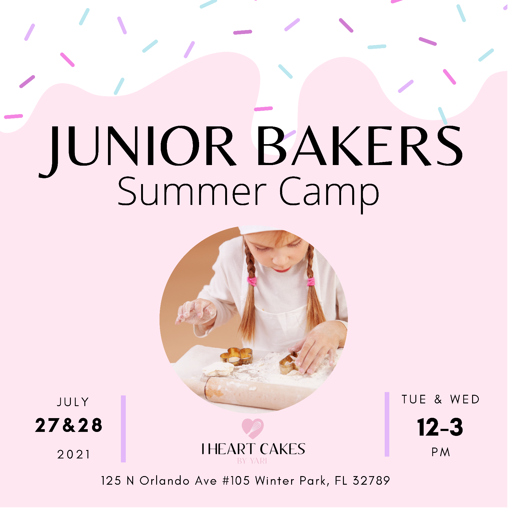 Junior Bakers Ages 10-13