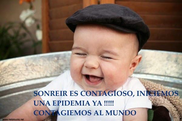 Sonreír es contagioso