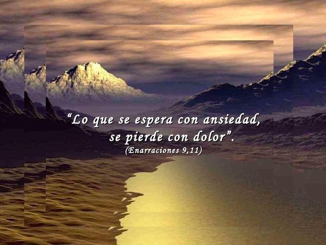 No esperes, Vive con fe
