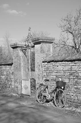 Vélo n&b Lezay