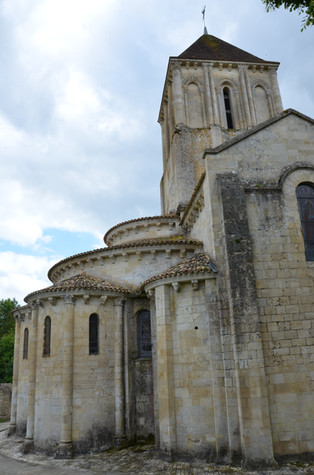 Eglise Sait Hilaire Melle
