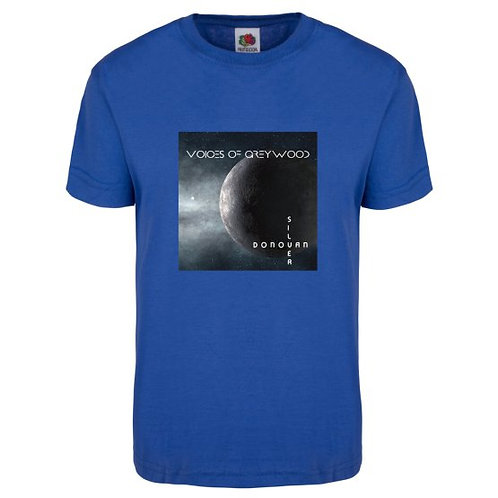 Voices of Greywood T Shirt, Blue, Extra Extra Large