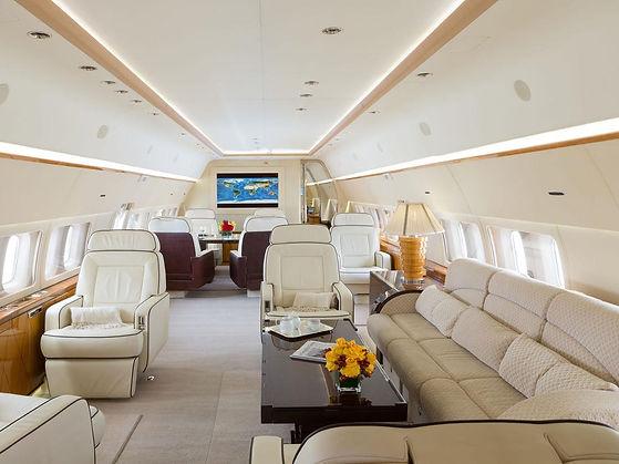 Boeing BBJ Interior