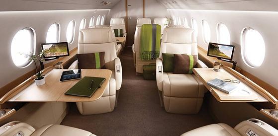 Dassault Falcon 2000 Interior