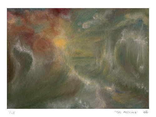 Limited Edition Seascape Print, 'The Passing',