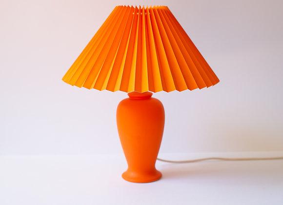 Orange Pleat