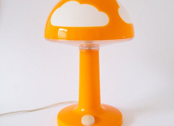 Orange Cloudy Lamp