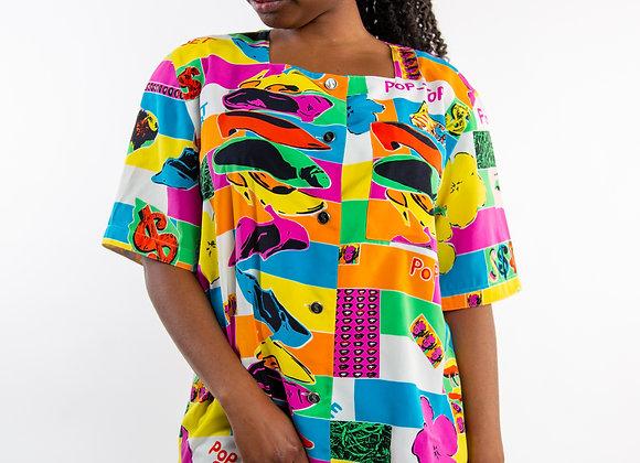 Andy Warhol blouse