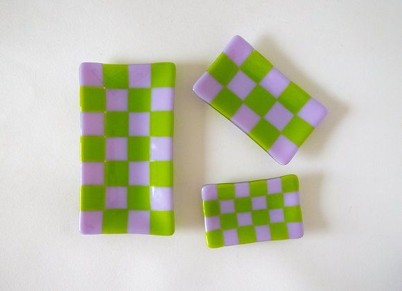 Nata Checker Tray