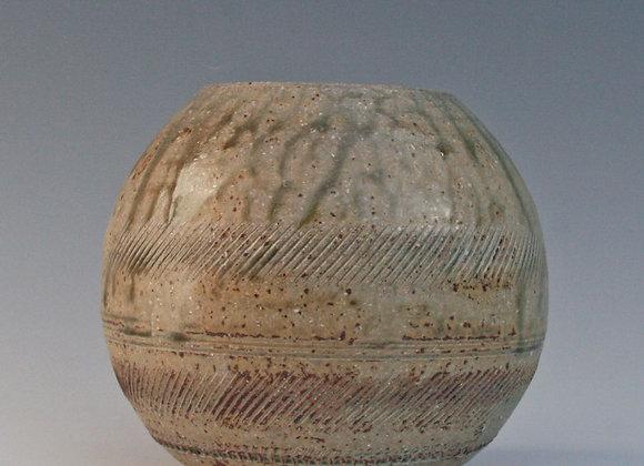Globular vase