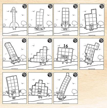 Numberblocks 10 to 20 Series 5