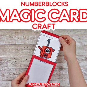 Numberblocks Magic Card