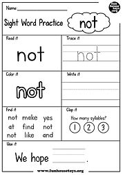 Sight Word Practice not.jpg