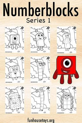 Numberblocks 1 to 10 Series 1