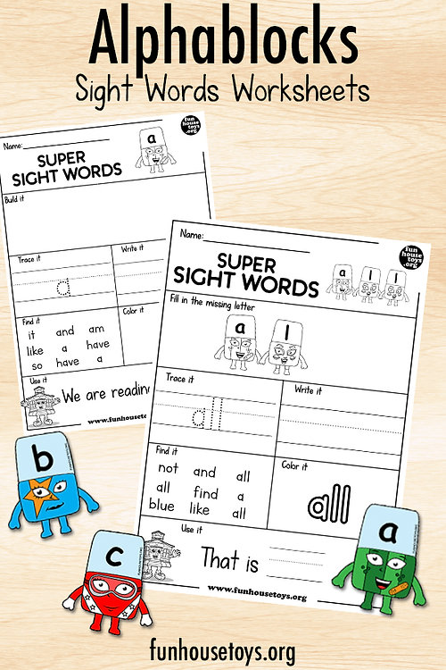 Alpha Block Sight Words Worksheets.jpg