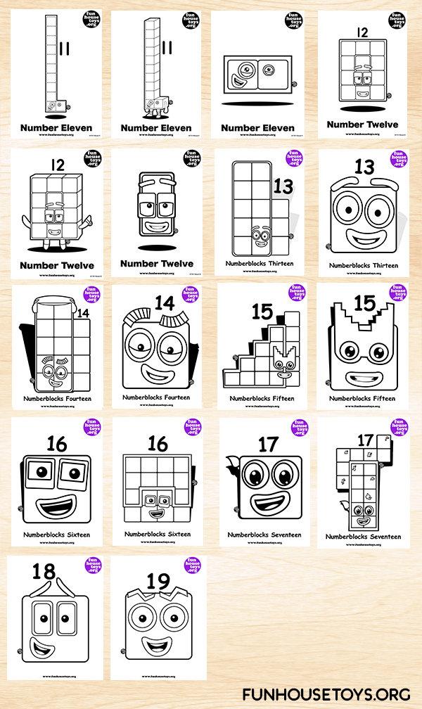 FUN HOUSE TOYS | Numberblocks