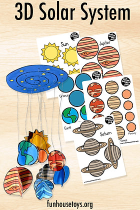 Solar System - Digital Download