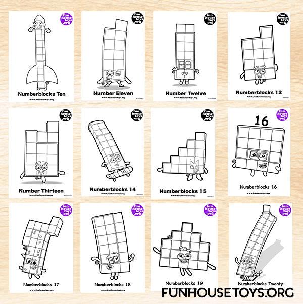 FUN HOUSE TOYS   Numberblocks